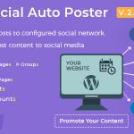 افزونه Social Auto Poster اشتراک گذاری اتوماتیک شبکه های اجتماعی